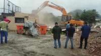 The Vila Autodromo favela is being demolished