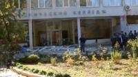 Крыльцо политехнического колледжа в Керчи