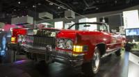 """American musician Chuck Berry""""s Eldorado convertible"""