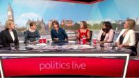 Politics Live panel