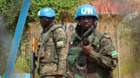 UN peacekeepers in Sudan