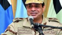 Egyptian President, Abdul Fattah al-Sisi