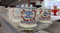 Special mugs made in Stoke-on-Trent