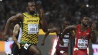 World Championships 2015: Bolt beats Gatlin to defend 200m title