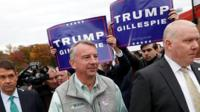 Ed Gillespie campaigning