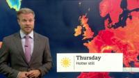 BBC Weather report