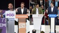 The candidates for the 20 December general election in Spain