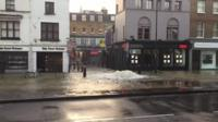 Flooding in Angel