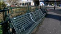 benches in bournemouth