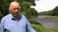 Afonydd Cymru chief executive, Dr Stephen Marsh-Smith,