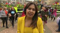 BBC Midlands Today Arts reporter Satnam Rana.