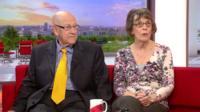 Leon Bernicoff on BBC Breakfast in 2013