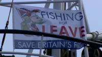 Flag supporting leaving EU campaign