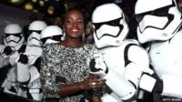 "Lupita Nyong""o and Storm Troopers"