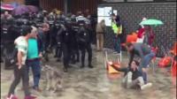 Violence in Catalonia