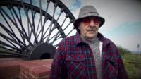 Ron Corden, former miner