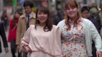 Plus size models Nao and Aisha in Japan