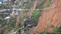 Landslide in Philippines