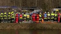 Crash site scene