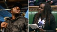 Labour MP Fiona Onasanya quotes Big Shaq's Man's Not Hot in Commons Budget debate.