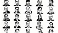 Some of the lawyers arrested by China