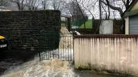 Pentre floods