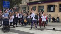 A flash mob