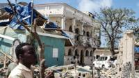 Hotel attacked by al-Shabab in Kismayo