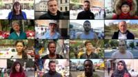 People around world who spoke to BBC