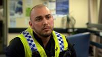 Gwent Police officer Vinny Mair