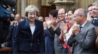 Theresa May and MPs