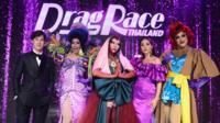 Drag queens appear at Drag Race Thailand