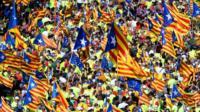 """Лидер Каталонии Карлес Пучдемон: """"Каждая ошибка Мадрида усиливает наши позиции."""""""