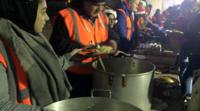 Meals are served five nights a week by HomeLess One