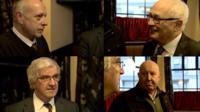 Paul Bodman, George Jones, Paul Thrupp and Paul Rowlands