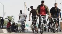 Lagos BMX crew