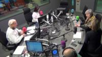 Theresa May in the Today studio
