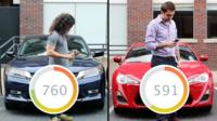 Drivers check their Vinli app