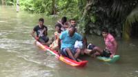 Flooding in Sri Lanka