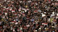 Протесты в Гонконге: таймлапс