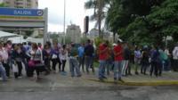 Очереди за едой в Каракасе