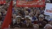 Митинг в Ленинграде