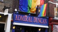 Admiral Duncan pub in Soho