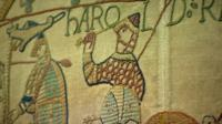 A copy of the Bayeux Tapestry is displayed in Reading Museum.