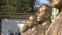 Бюст Сталина в Москве