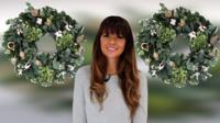 Wreath-maker and florist Ashlee Eley.