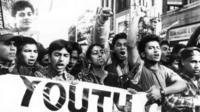 Protesting Altab Ali's Death