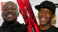 Stormzy and Dizzee Rascal