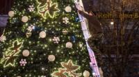Christmas tree, Prague