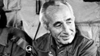 Shimon Perez in 1984
